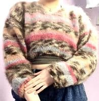 Cropped Mohair Jumper